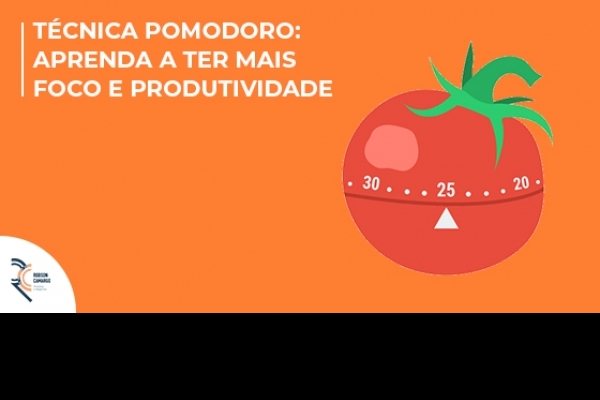 Técnica Pomodoro: aprenda a ter mais foco e produtividade